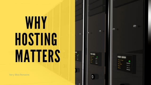 Why hosting speed matters