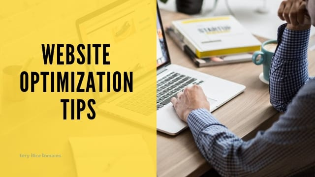 Website optimization tips